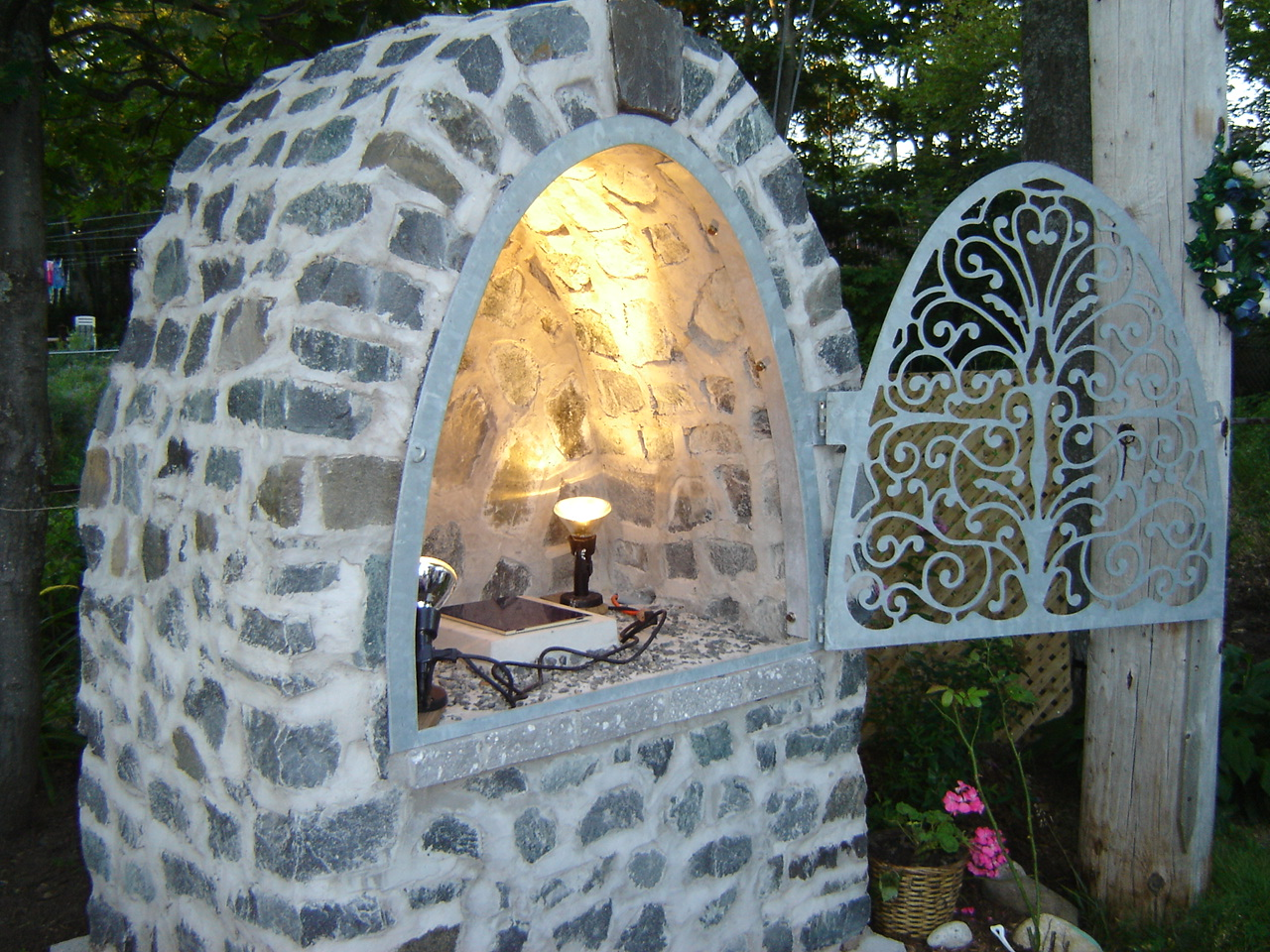 Photo Dedication of Our Lady's Grotto